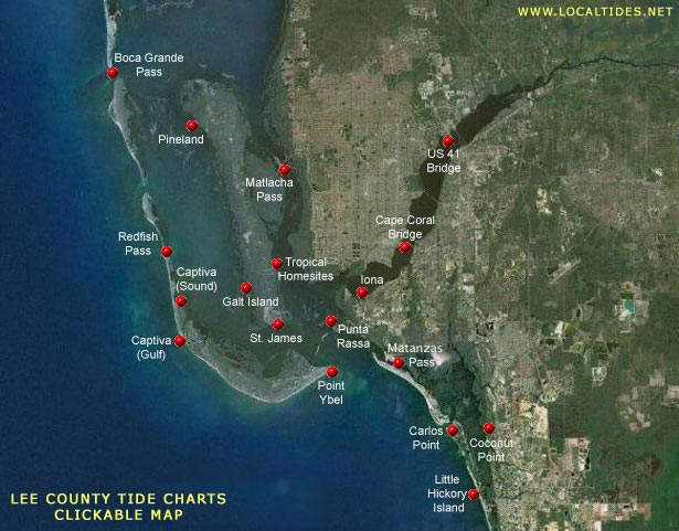 Southwest Florida Tides Local Tide Charts Tide Graphs Tables Lee County Charlotte County Collier County Manatee County Sarasota County Pinellas County Hillsborough County Cape Coral Fort Myers